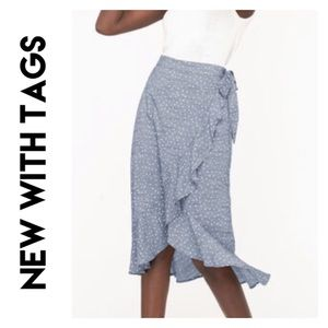 Polka Dot Skirt - Size Medium